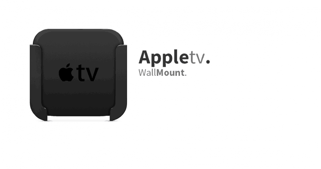 Apple TV 5 4K – Siri Remote Wall Mount