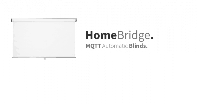 HomeBridge – MQTT Blinds – Part II