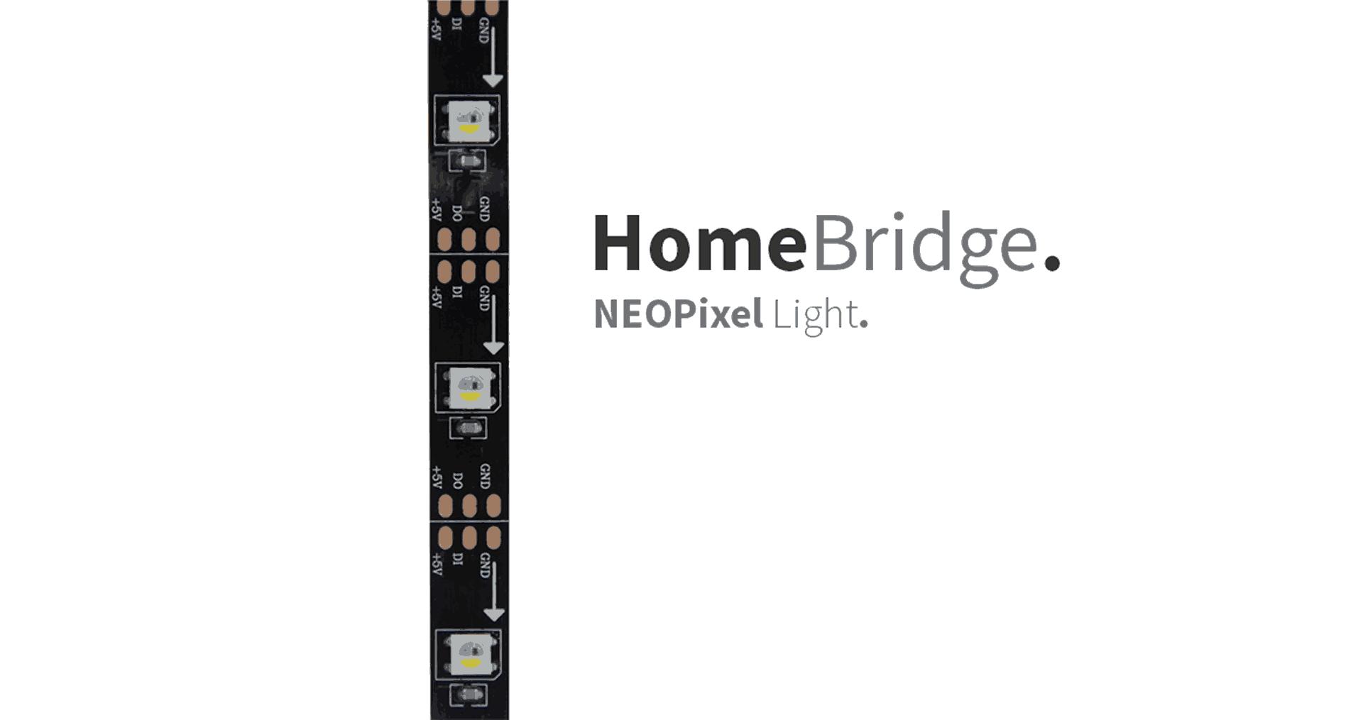 HomeBridge – NEOPixel Light - StudioPieters®