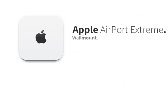 Apple AirPort Extreme 6th generation – Wall Mount