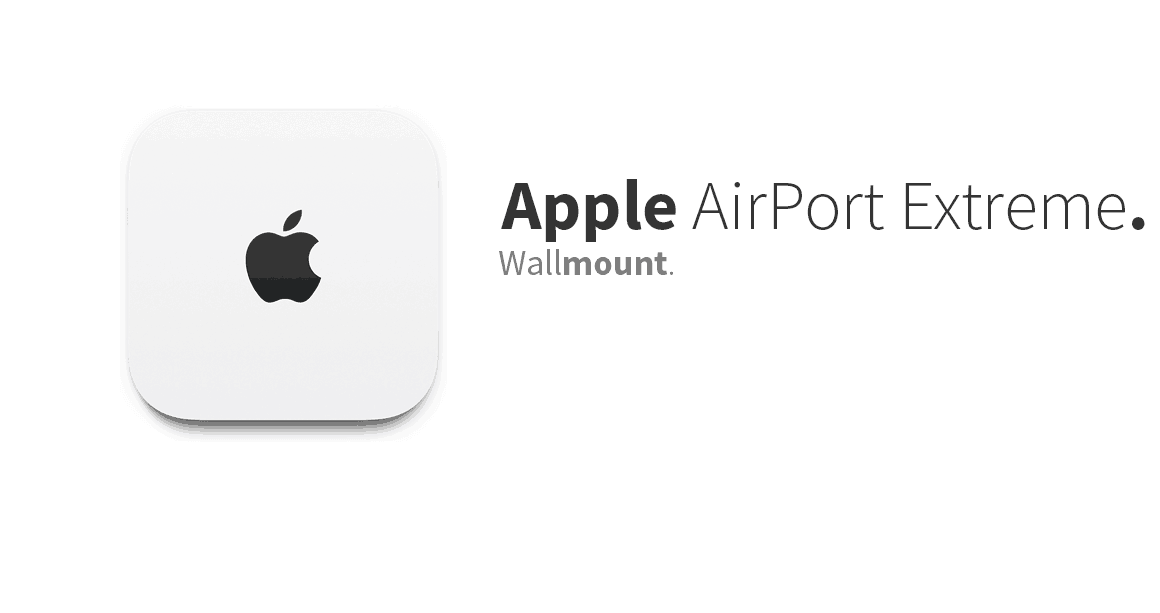 Apple AirPort Extreme 5th generation – Wall Mount