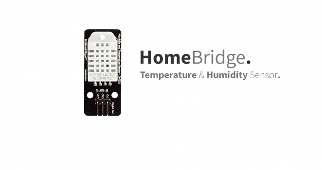 HomeBridge – MQTT Temperature & Humidity Sensor