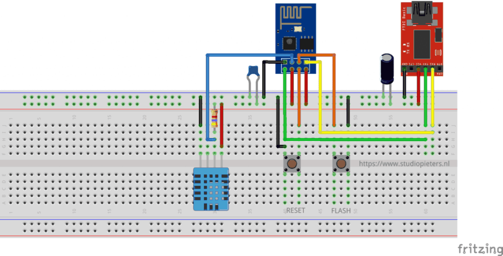 HomeBridge – MQTT Temperature & Humidity Sensor - StudioPieters®