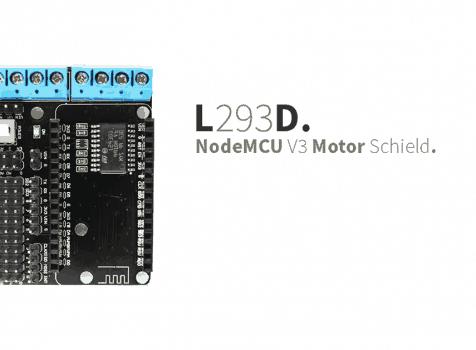 NodeMcu v3 – L293D Motor Shield