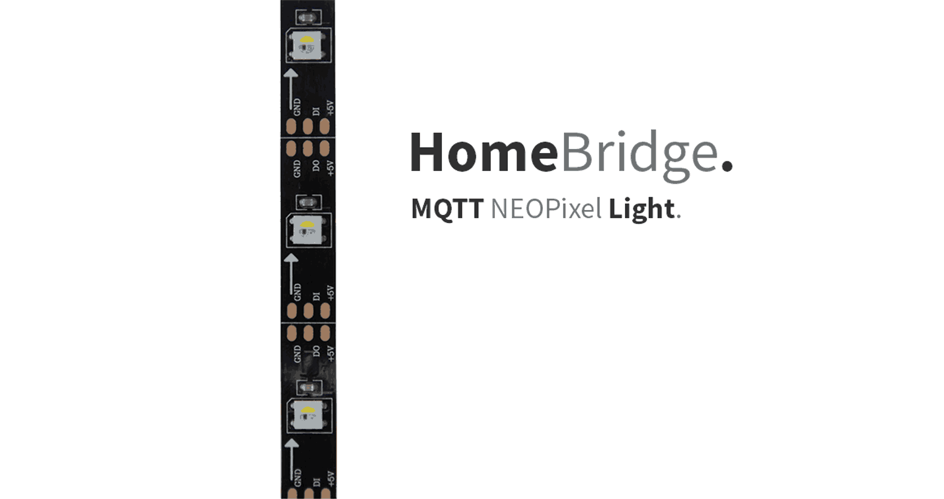 HomeBridge – MQTT NeoPixel - StudioPieters®