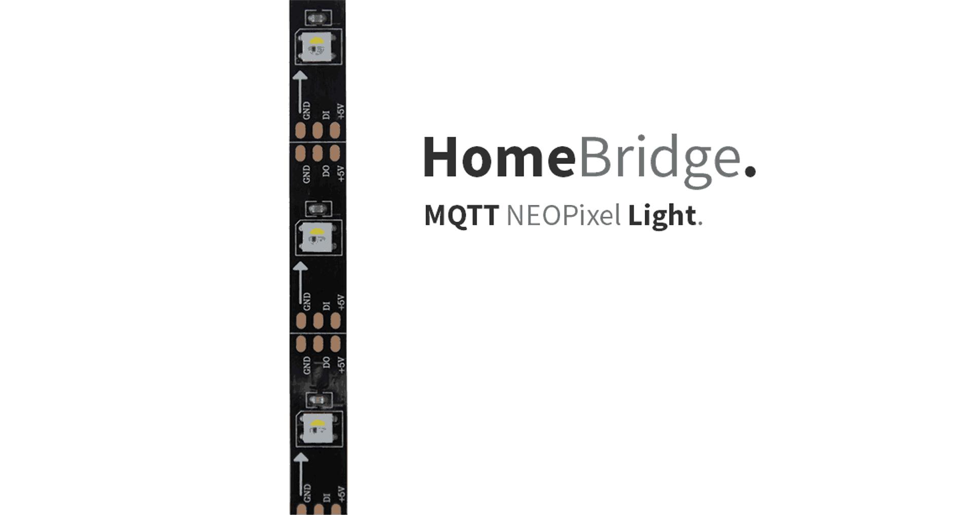 HomeBridge – MQTT NeoPixel