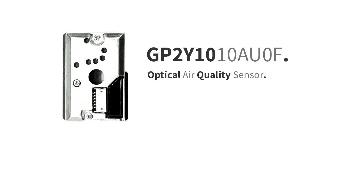 GP2Y1010AU0F – PM2.5 Optical Particle Sensor