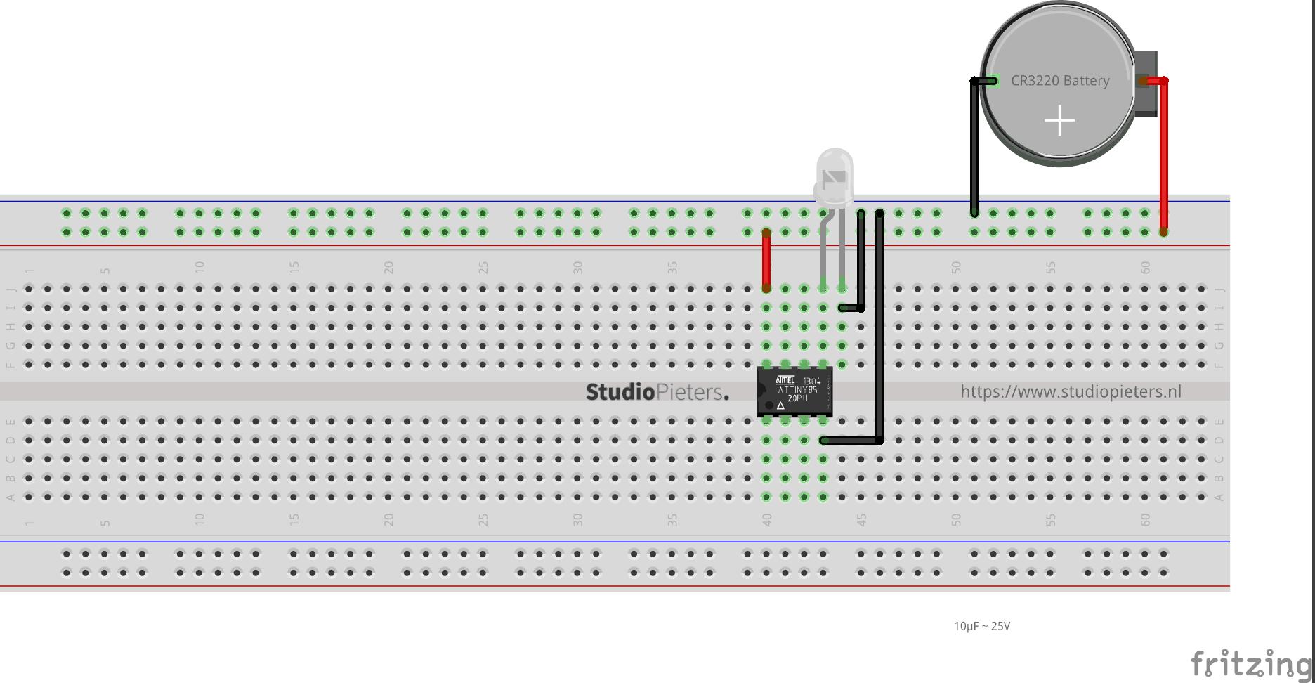 Miniaturizing - ATTiny85 - StudioPieters®