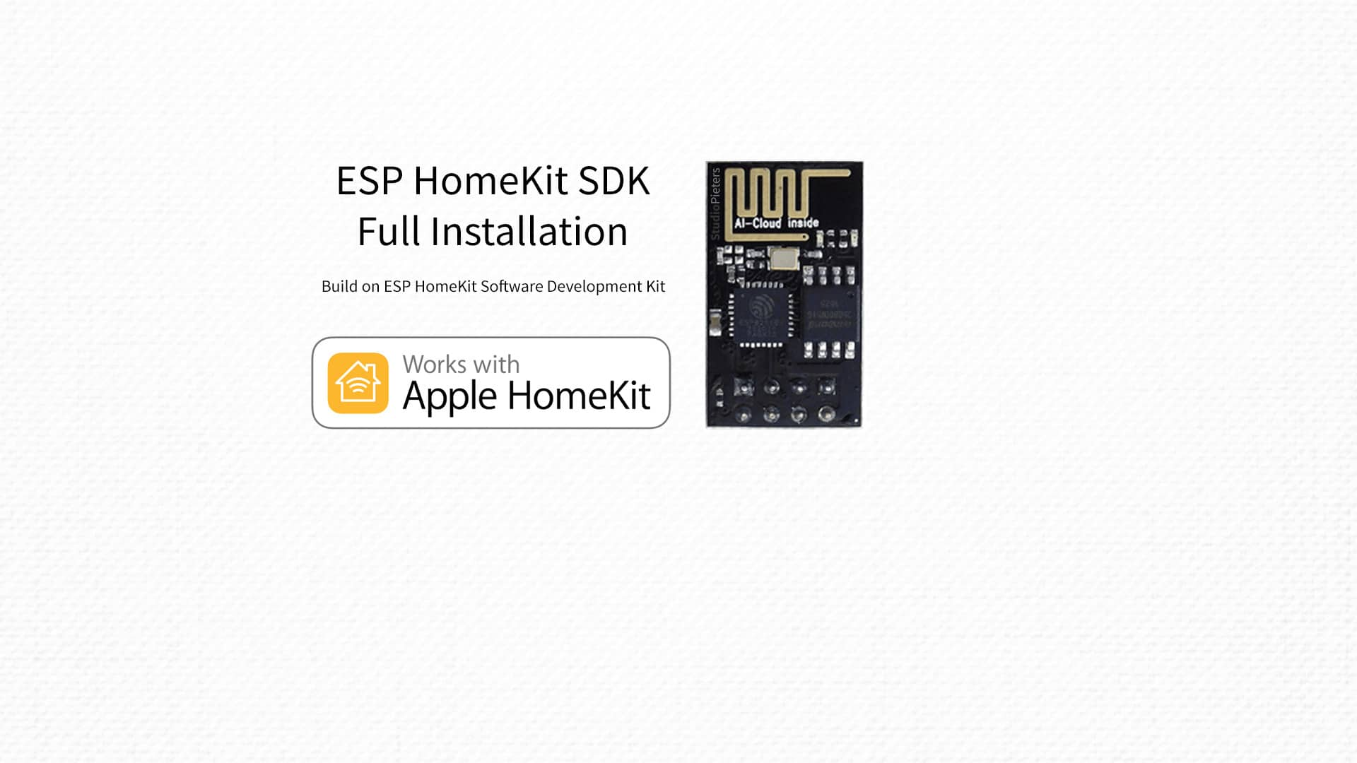 ESP HomeKit SDK – Full Installation