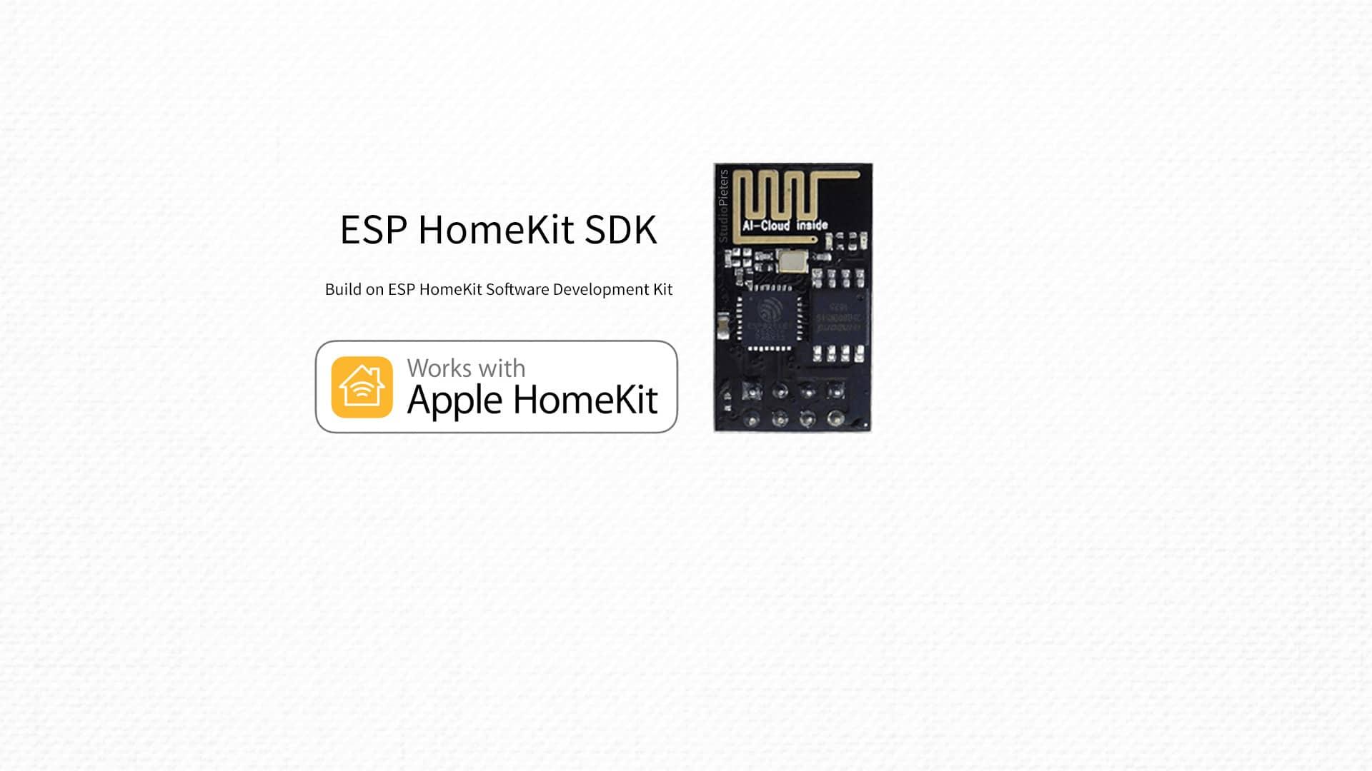 ESP HomeKit SDK - StudioPieters®