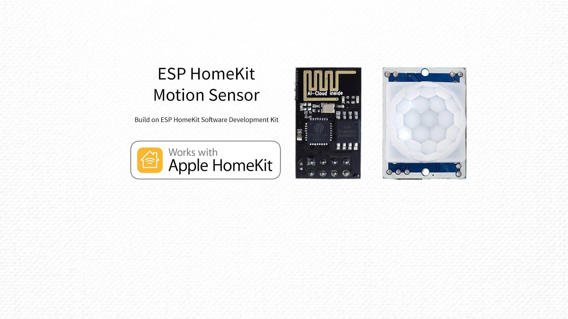 ESP8266 – HomeKit Motion Sensor - StudioPieters®