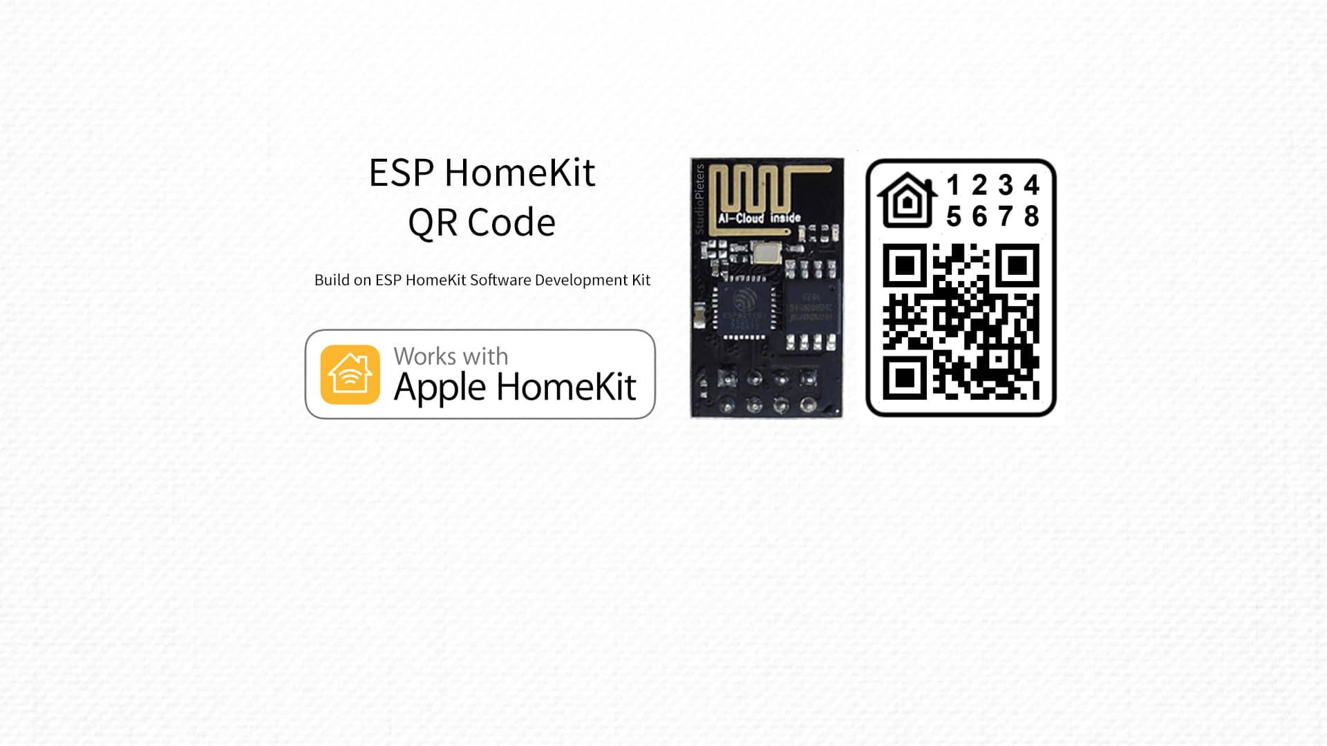 ESP HomeKit SDK – QR Code - StudioPieters®
