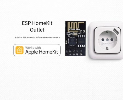 ESP8266 – HomeKit Power Outlet