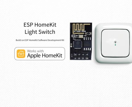 ESP8266 – HomeKit Light Switch