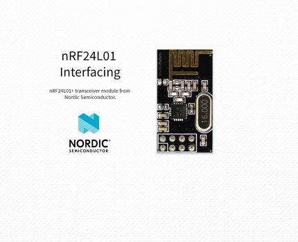 Arduino – nRF24L01+ Interfacing