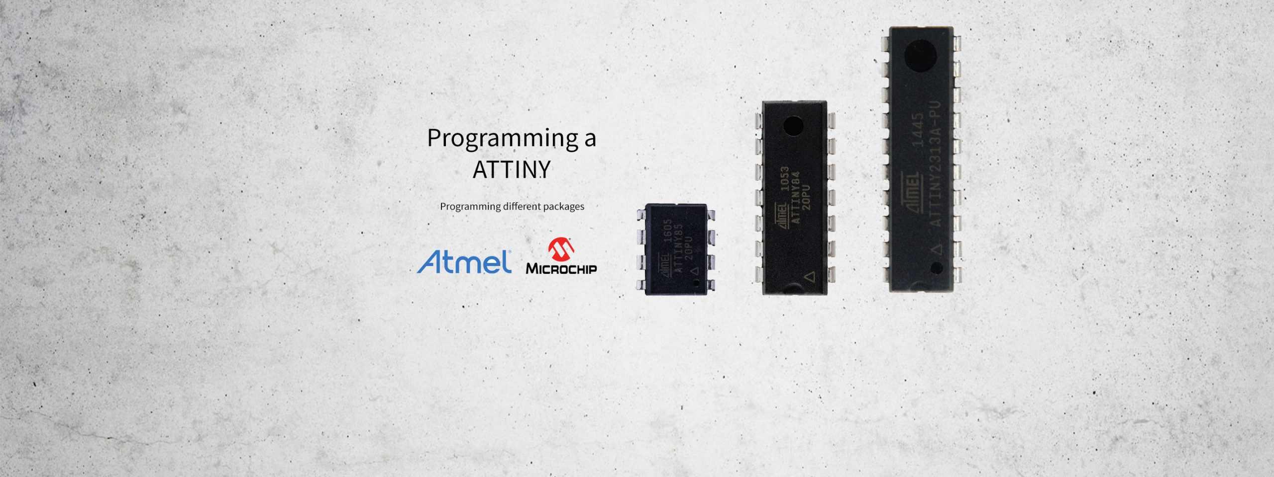 ATTINY – Micro-Controller Programming