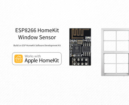 ESP8266 – HomeKit Window Sensor