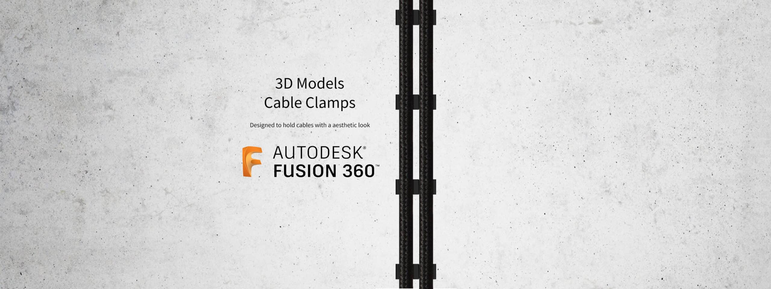 3D Models – Cable Clamps