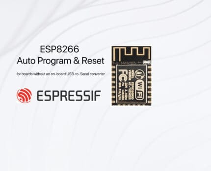 ESP8266 – Auto Program & Reset